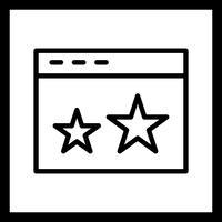 Vector Starred-pictogram