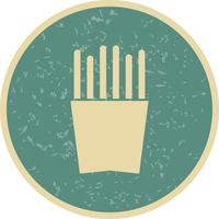 Vector frieten icoon