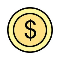 Vector Dollars pictogram