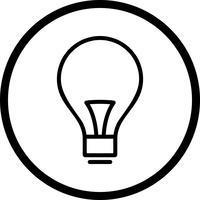 Vector lamppictogram