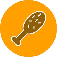 Vector kip pictogram