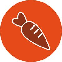 Vector wortel pictogram