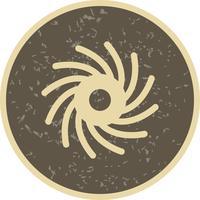 Zwart gat Vector Icon