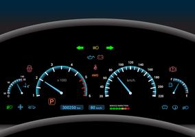 Auto dashboard achtergrond