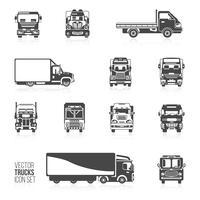 Truck pictogrammen instellen