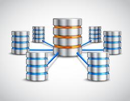 Netwerk database concept