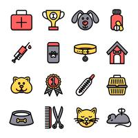Veterinaire Icon Set
