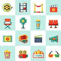 bioscoop pictogramserie