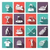 Golf pictogrammen instellen
