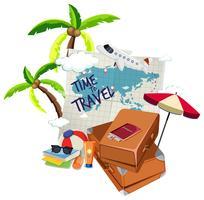 Tijd om te reizen logo