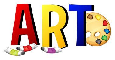 Lettertypeontwerp met woordkunst