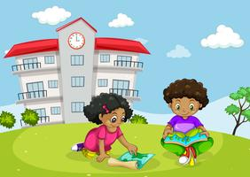 Kinderen voor het bouwen
