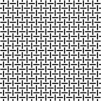 Weven naadloze patroon vector