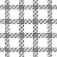 Textiel Geruit Naadloos Patroon vector