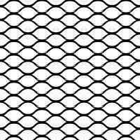 Staal raster monochroom naadloze patroon vector