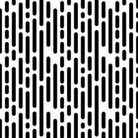 Naadloos patroon met verticale zwarte lijnen vector