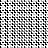 Monochrome naadloze patroon vector