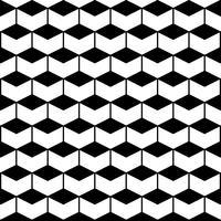 Naadloos patroon met zeshoeken vector