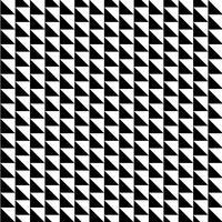 Naadloos patroon met driehoekshapes vector