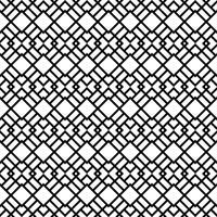 Naadloos patroon met ruitvormen vector