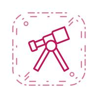 Telescoop Vector Icon
