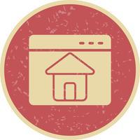 vector startpagina pictogram