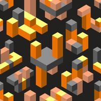 Abstracte geometrische naadloos vector