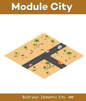 Isometrische modules voor constructie
