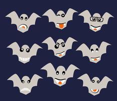 Emoji emoticon expressie pictogrammen vector