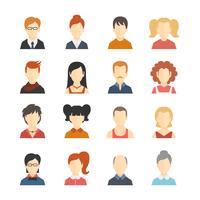 avatar pictogrammen instellen