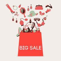 Boodschappentas grote verkoop