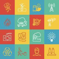 Vervuiling pictogrammen instellen