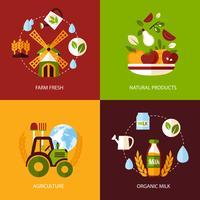 Landbouw pictogramserie