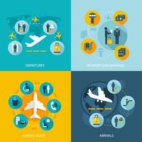 Luchthaventerminal vluchtdiensten