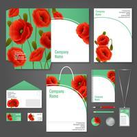 Poppy huisstijl vector