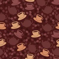 Restaurant naadloze patroon