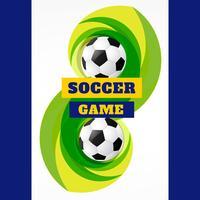 voetbalsporten vector