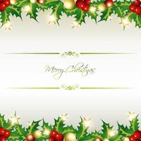 vrolijk kerstfeest vector