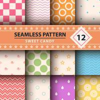 Kleur eenvoudige vorm, Merry Christmas-patroon. vector