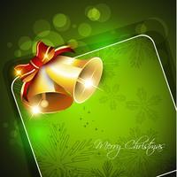 kerstbel vector