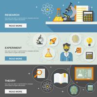 Wetenschap en onderzoek Banner