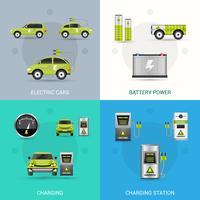 Set elektrische auto's