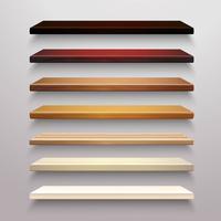 Houten planken Set