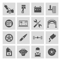 Auto Service Pictogrammen