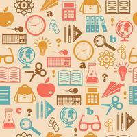Onderwijs naadloze achtergrond