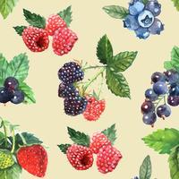 Berry naadloze patroon