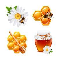 Honing pictogrammen instellen
