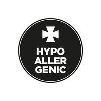 Hypoallergeen pictogram vector