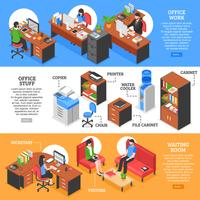Gedetailleerde spullen voor Office-spullen vector