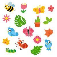 dieren karakter ontwerp vector